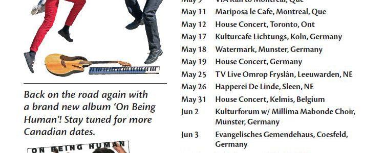 Apples 'n' Oranges Tour Dates poster